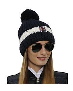 SPOOKS Hat Stripe Navy/White