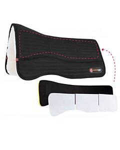T3 Matrix SHIM Pad with WoolBack® + Ortho Impact anatomisch